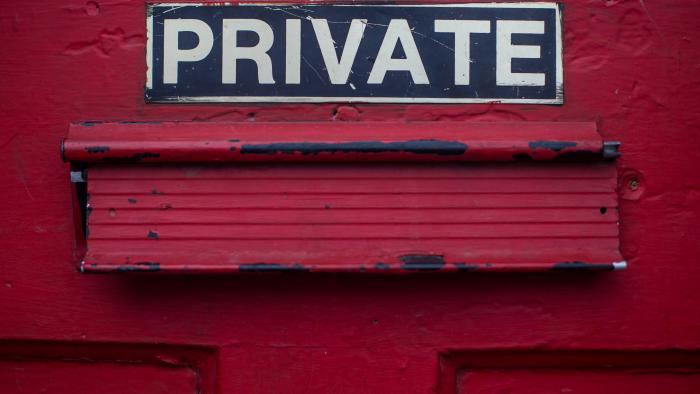 Private sign by Dayne Topkin/Unsplash