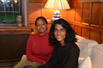 Leanne Gale and Mithiran Ravindran
