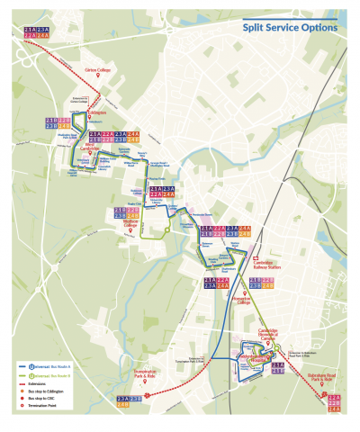 Universal bus routes proposed