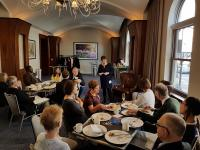 President Jane Clarke brunch talk